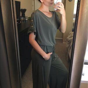 Ralph Lauren Olive Green Jumpsuit